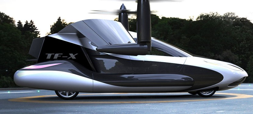 Flying car with…